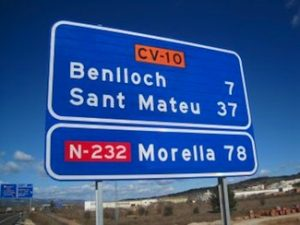 La senyal de Morella