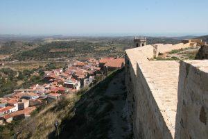 Cervera desde su castillo, segundo foco más importante de las Germanías del Maestrat (fotografía: Jordi Maura)
