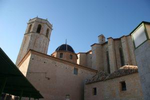Campanario de la arciprestal de Sant Mateu, donde resistieron<br /> los últimos agermanados del Maestrat en junio de 1521 (fotografía: Jordi Maura)
